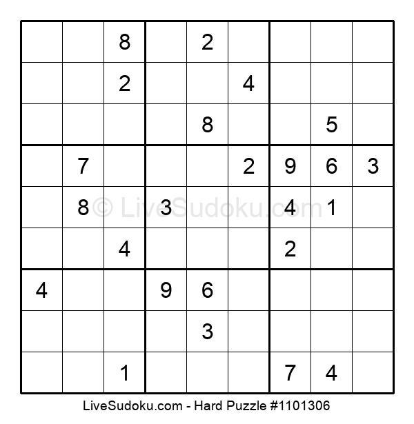 Hard Puzzle #1101306