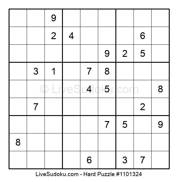 Hard Puzzle #1101324