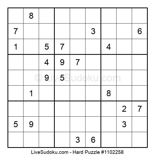 Hard Puzzle #1102258