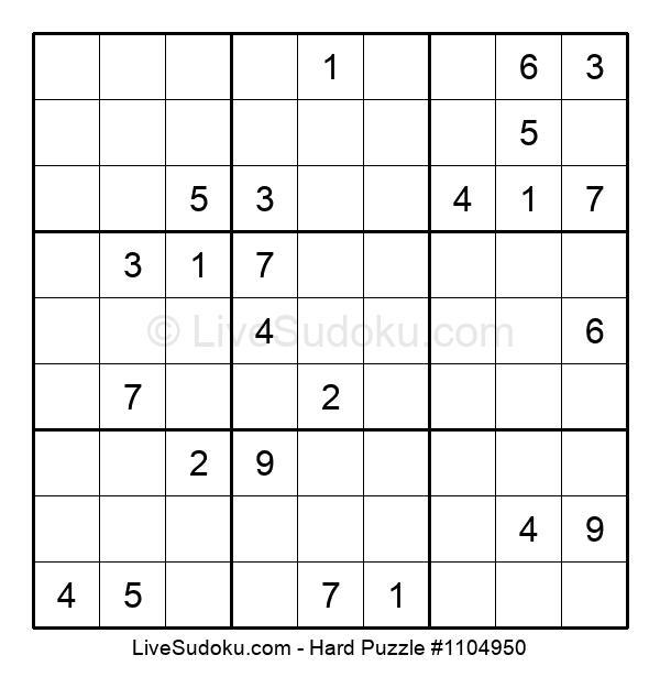 Hard Puzzle #1104950