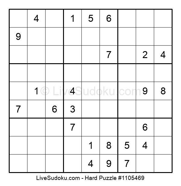 Hard Puzzle #1105469