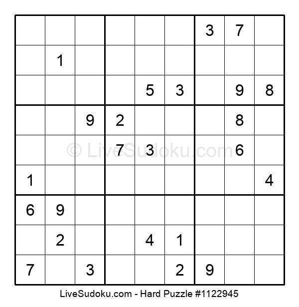 Hard Puzzle #1122945
