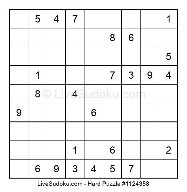 Hard Puzzle #1124358
