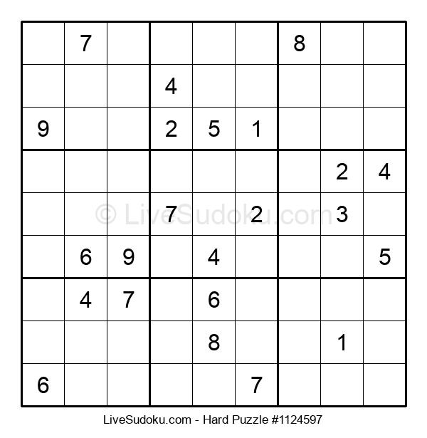 Hard Puzzle #1124597