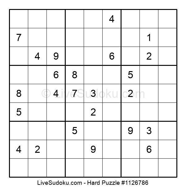 Hard Puzzle #1126786