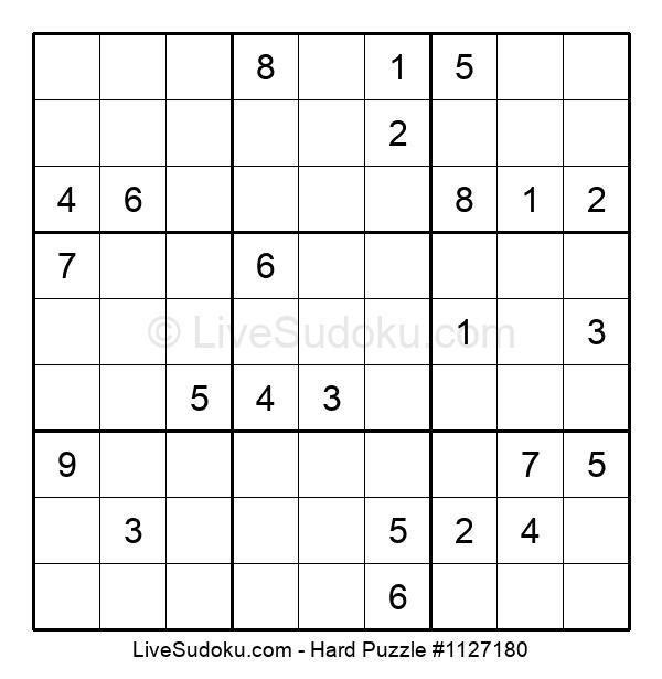 Hard Puzzle #1127180