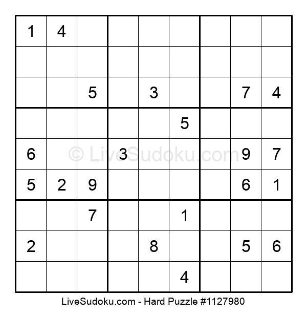Hard Puzzle #1127980