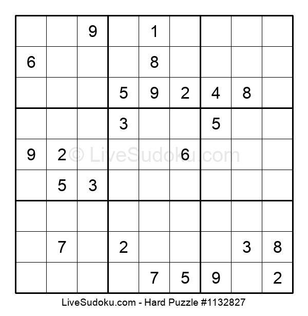 Hard Puzzle #1132827