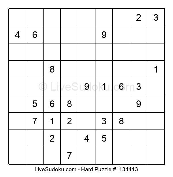 Hard Puzzle #1134413