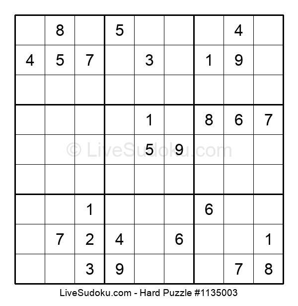 Hard Puzzle #1135003