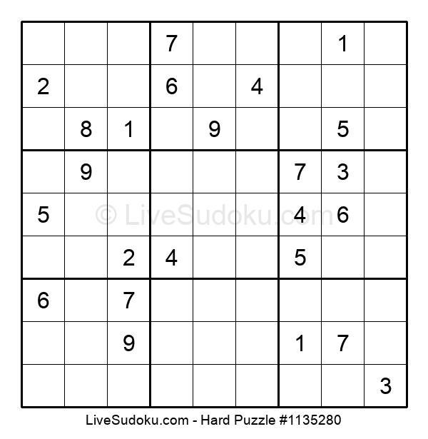 Hard Puzzle #1135280