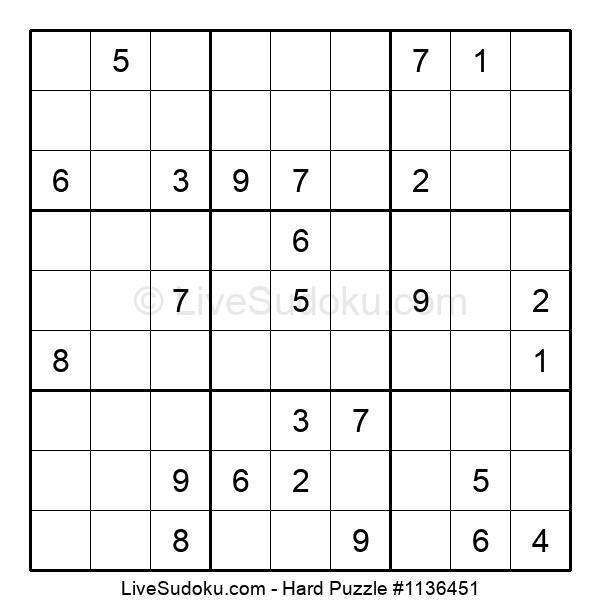 Hard Puzzle #1136451