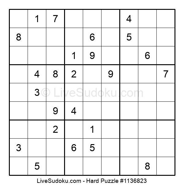 Hard Puzzle #1136823