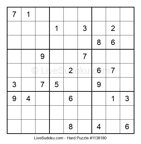 Hard Puzzle #1138180
