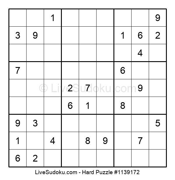 Hard Puzzle #1139172