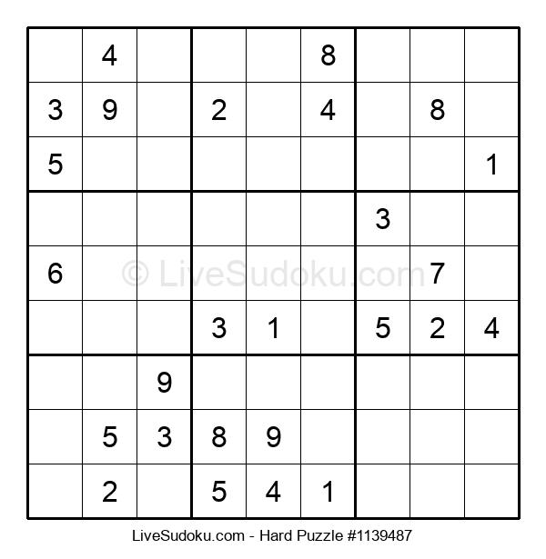 Hard Puzzle #1139487