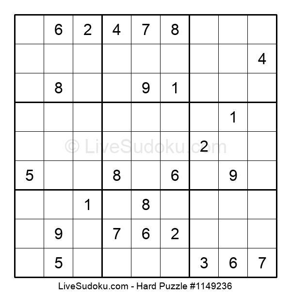 Hard Puzzle #1149236