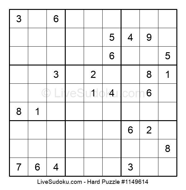 Hard Puzzle #1149614