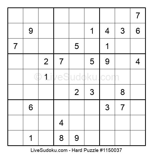Hard Puzzle #1150037