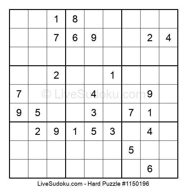 Hard Puzzle #1150196
