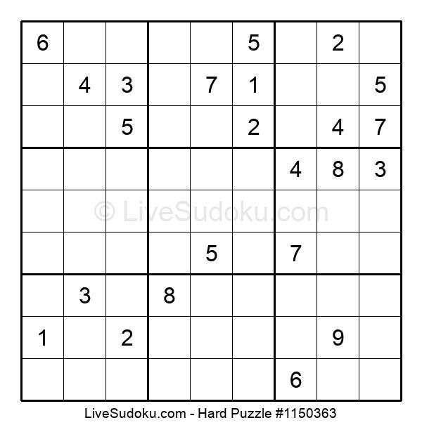 Hard Puzzle #1150363