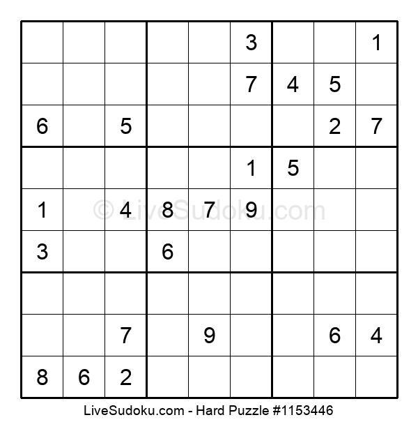Hard Puzzle #1153446