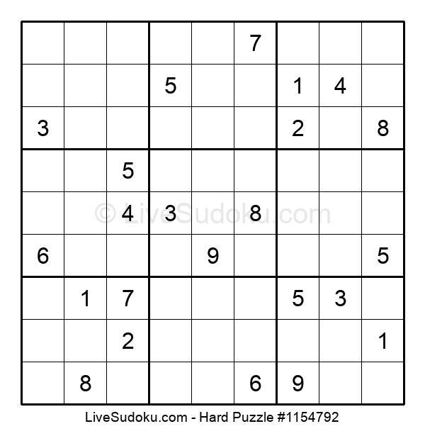 Hard Puzzle #1154792