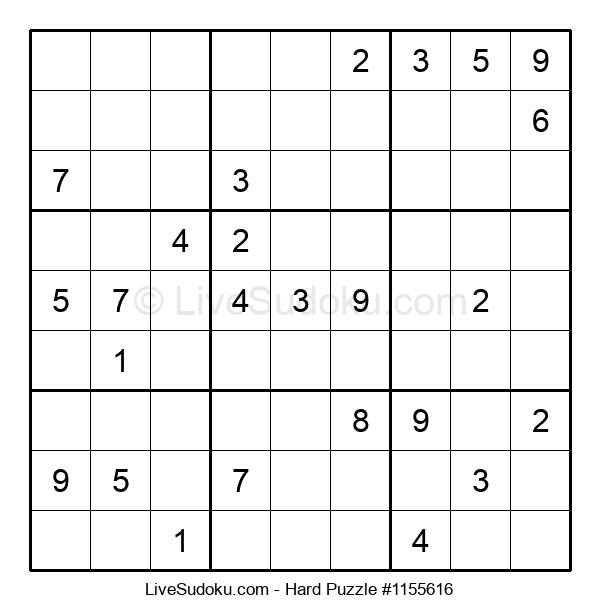 Hard Puzzle #1155616