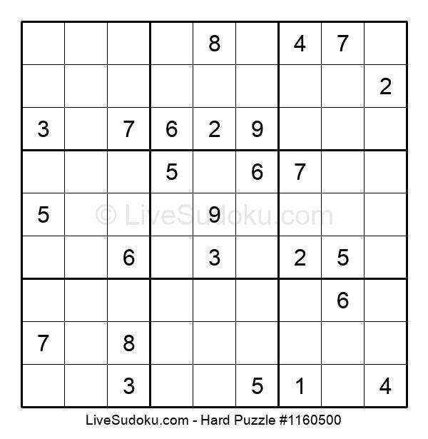 Hard Puzzle #1160500