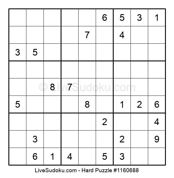 Hard Puzzle #1160688