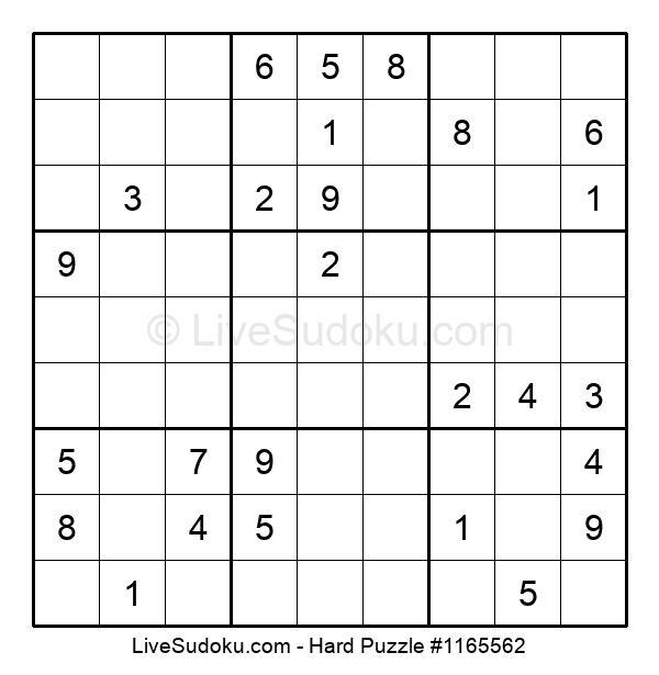 Hard Puzzle #1165562