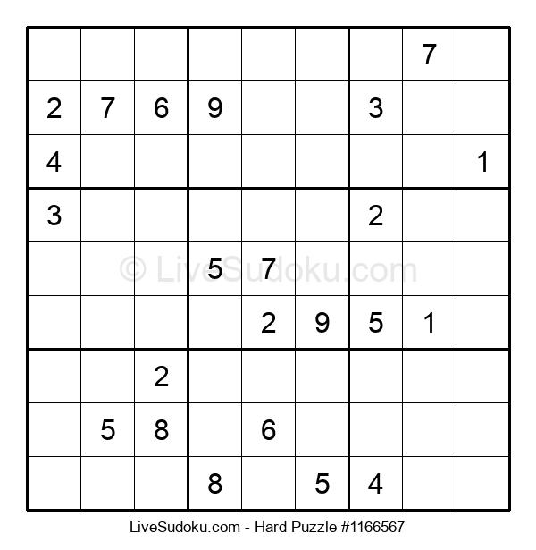 Hard Puzzle #1166567