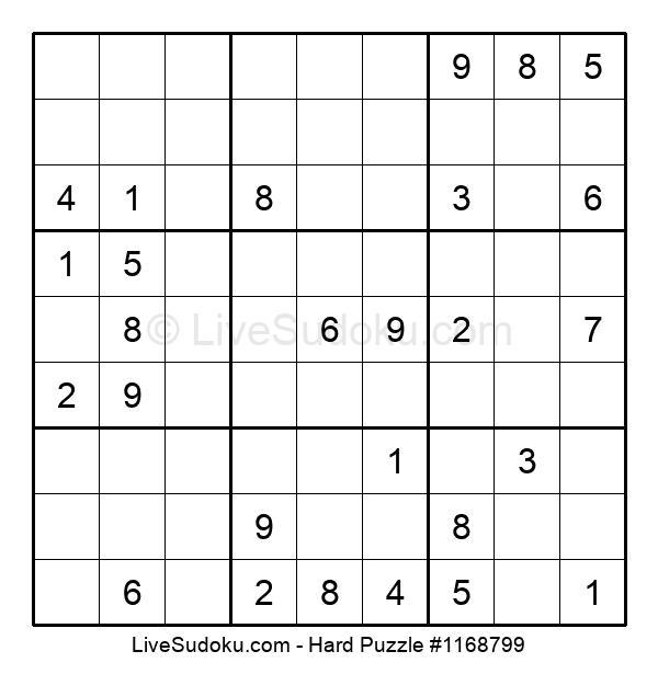 Hard Puzzle #1168799