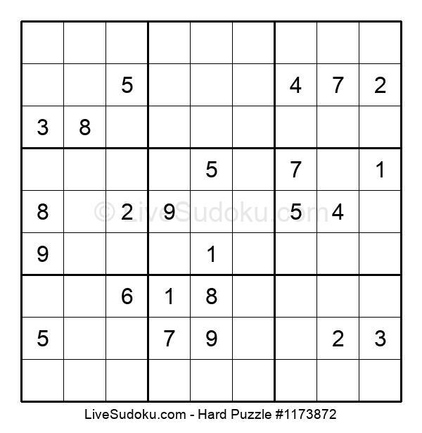Hard Puzzle #1173872