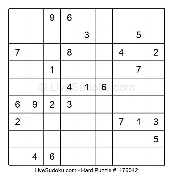 Hard Puzzle #1176042