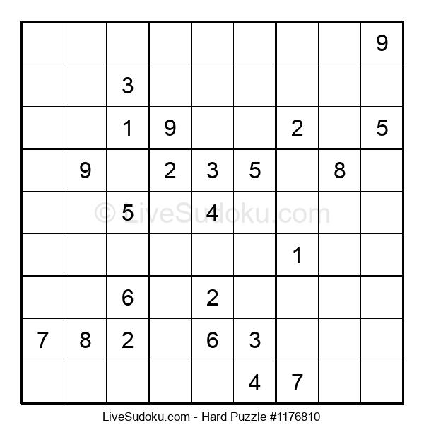 Hard Puzzle #1176810