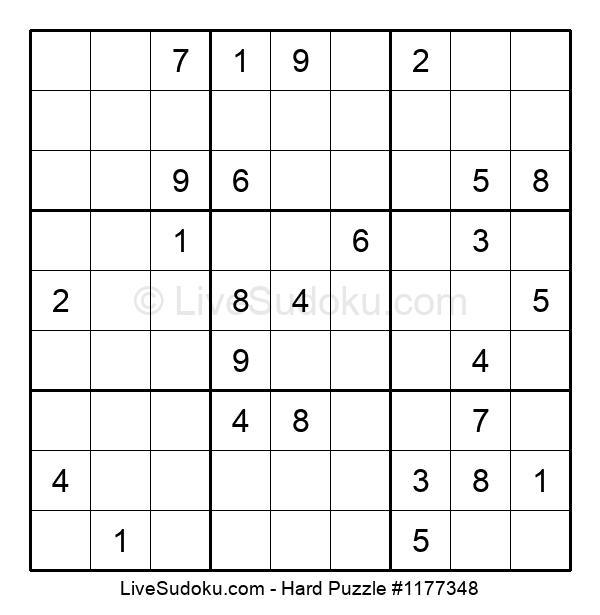 Hard Puzzle #1177348