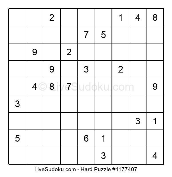 Hard Puzzle #1177407