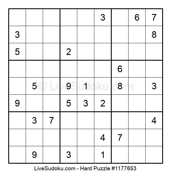 Hard Puzzle #1177653