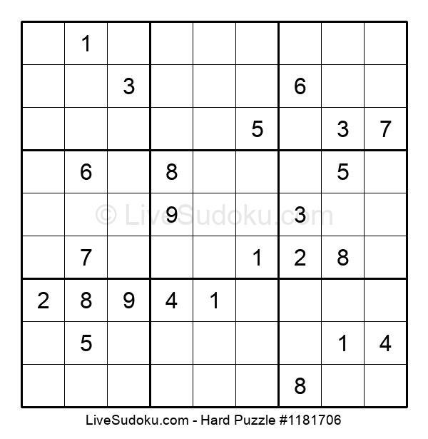 Hard Puzzle #1181706