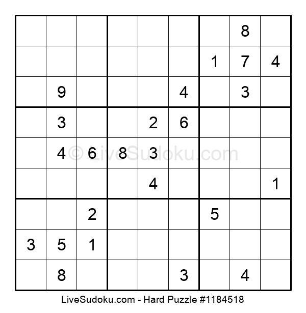 Hard Puzzle #1184518
