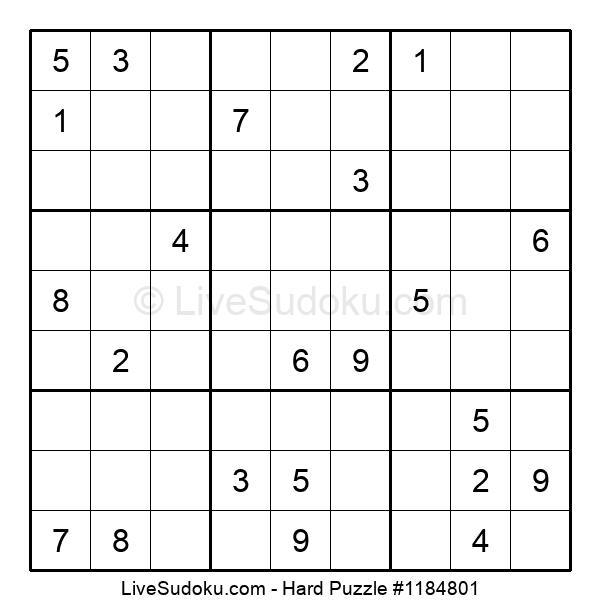 Hard Puzzle #1184801