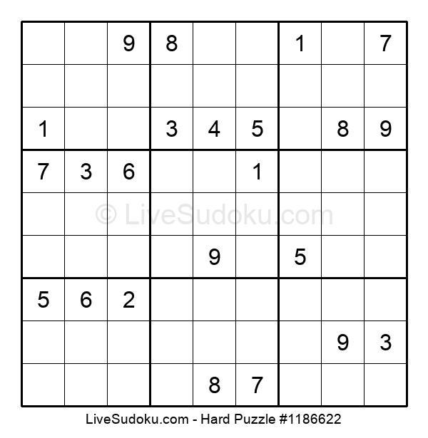Hard Puzzle #1186622