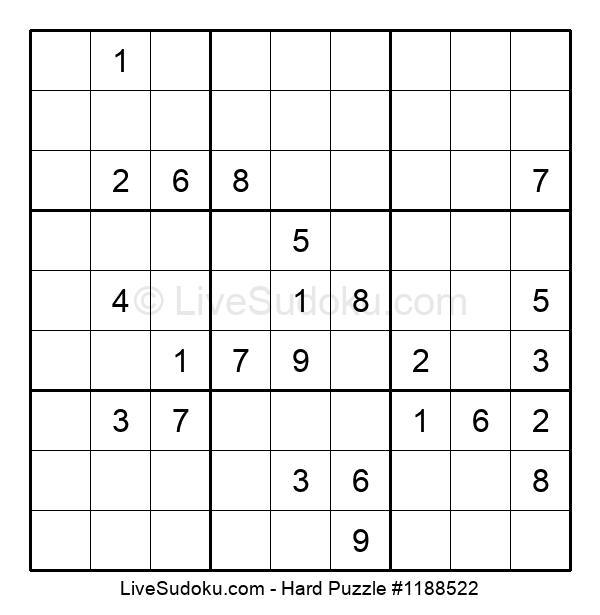 Hard Puzzle #1188522