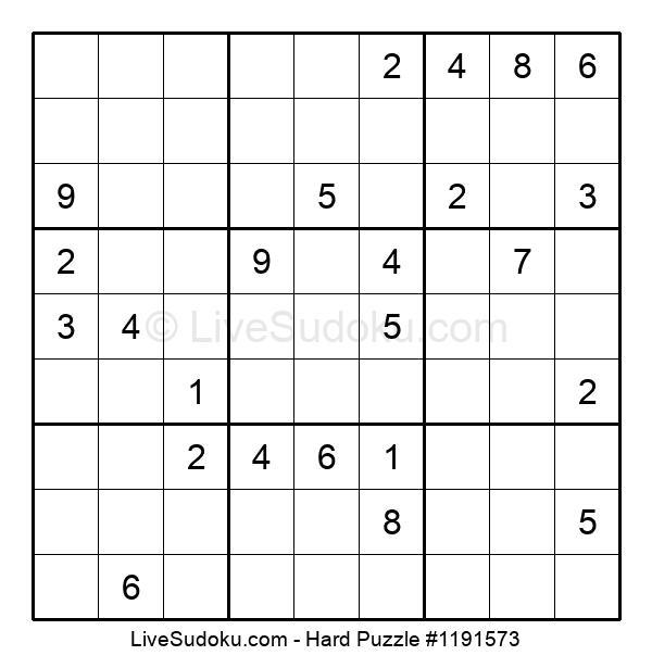 Hard Puzzle #1191573