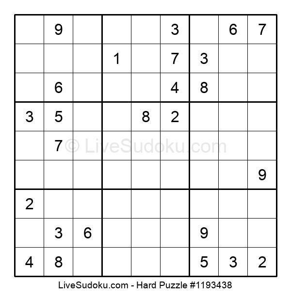 Hard Puzzle #1193438