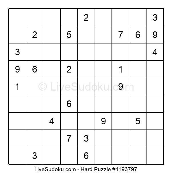 Hard Puzzle #1193797