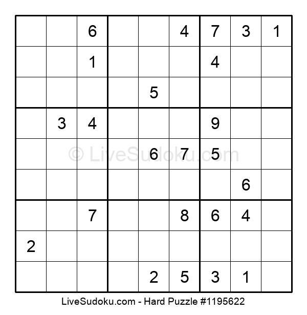 Hard Puzzle #1195622