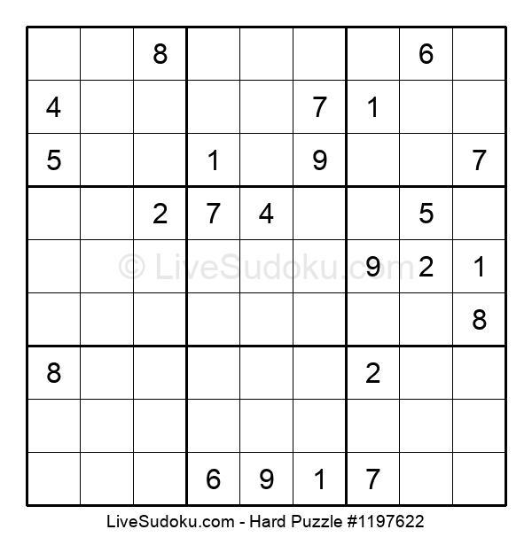 Hard Puzzle #1197622