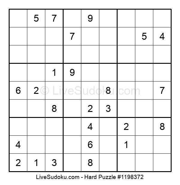 Hard Puzzle #1198372